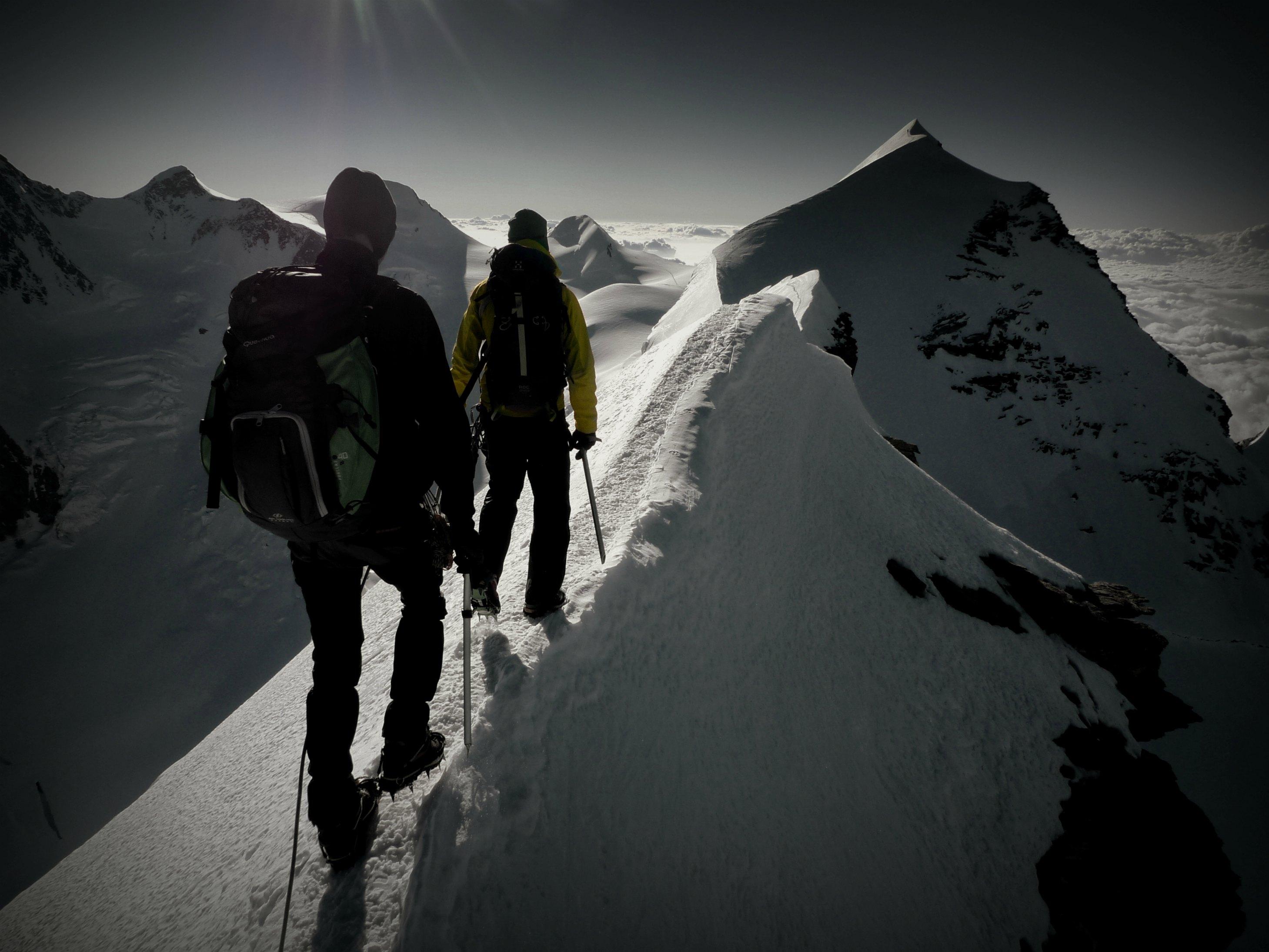 Ivo Meier Bergfuehrer Bergsteiger Berge Leidenschaft