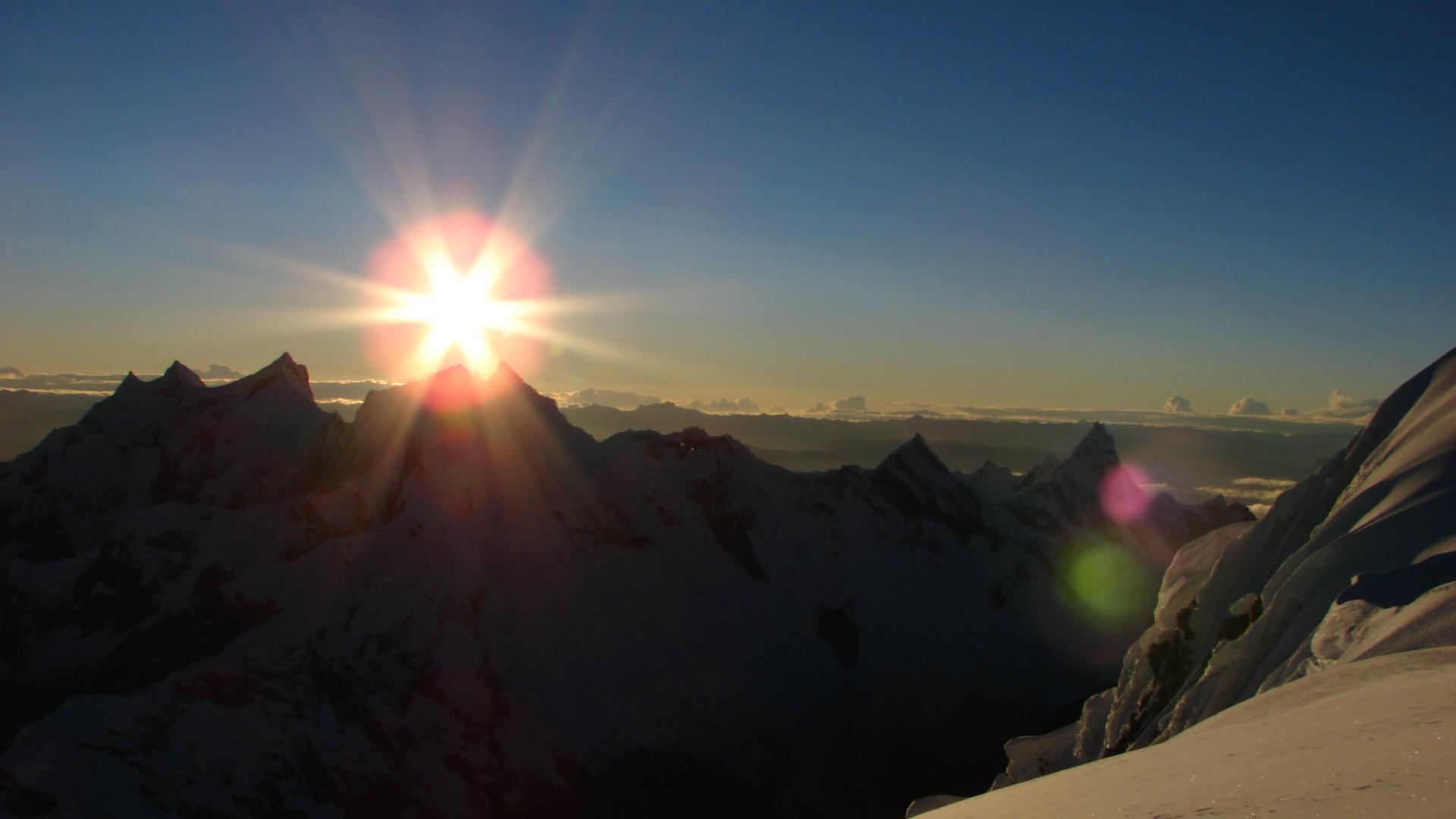 Ivo_Meier_Alpen 4000er Wallis Monte Rosa Leidenschaft_Sonne