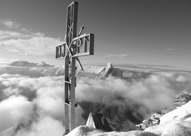 Matterhorn Monte Rosa Alpen Ivo Meier Archiv
