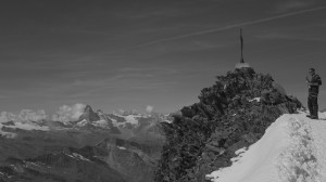 Allalinhorn (4027m) Ivo Meier 4000er Berge Wallis