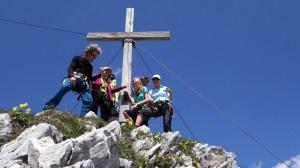 Gipfelmoshen Bernadeinkopf Werdenfelser Land