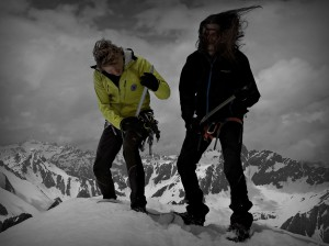 Gipfelmoshen Ivo Meier Petersenspitze Alpen
