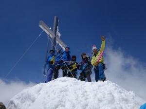 Gipfelmoshen und Hochtour auf  die Wildspitze 3770m mit Ivo Meier