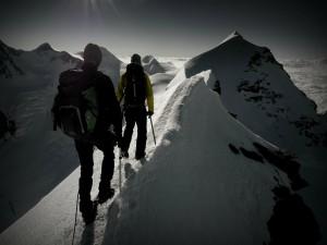Ivo Meier Bergfuehrer Bergsteiger Berge Leidenschaft Monte Rosa