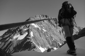 erste Hochtour Bergsteigen Eiger Ivo Meier Archiv