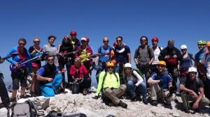 Gipfelmoshen uaf der Alpspitze
