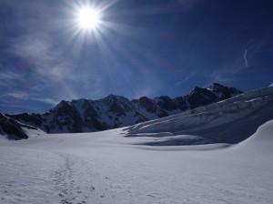 Gletschertour mit Bergfuehrer zur Wildspitze